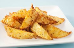 Homemade Oven Wedges  Top tip: Leave the skins on for better nutrition and a delightfully chewy texture
