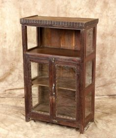 Antique Almirah Sari Storage Cabinet FREE White Glove Delivery by Wanderloot on Etsy