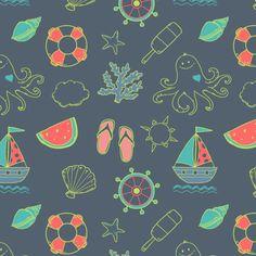 Pattern Design - 35 Seamless Vector Patterns #vectorpattern #patterndesign #seamlesspattern #floralpattern #freepattern