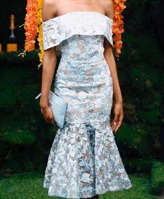 off shoulder neckline idea African Attire, African Fashion Dresses, African Dress, Fashion Outfits, Fashion Clothes, Chic Dress, Classy Dress, Classy Outfits, Elegant Dresses