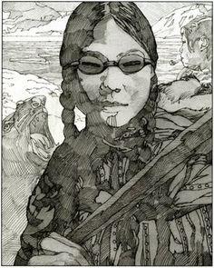 La Belle Illustration: Miles Hyman