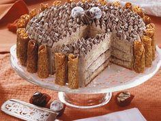 Mandel-Buttercreme-Torte ist ein Rezept mit frischen Zutaten aus der Kategorie Nusskuchen. Probieren Sie dieses und weitere Rezepte von EAT SMARTER!