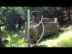 Rocket Tub pt5 firing it up full scale! - YouTube