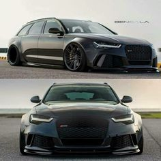 Audi RS6 waggy. If Darth Vader had a car, this would be it. More