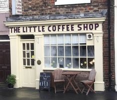 Little Coffee Shop...wish this jewel was right around my corner!