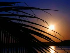 Sunset in Bilene, Mozambique