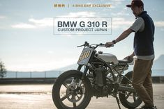 The first official custom G310R project: A tracker-style build from Wedge for BMW Motored Japan