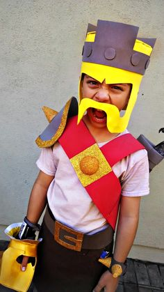 Clash of Clans Barbarian King costume