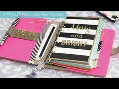 10 Ways to Personalize Your Planner | Strange & Charmed