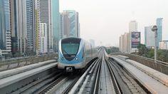 Awesome Dubai Metro Time Lapse,