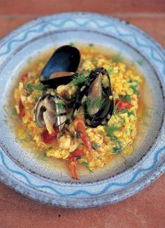 seafood risotto (risotto ai frutti di mare) | Jamie Oliver | Food | Jamie Oliver (UK)