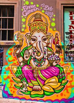 Ganesha brightly