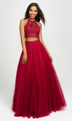 77b360c571f Long Ball Gown-Style Madison James Prom Dress