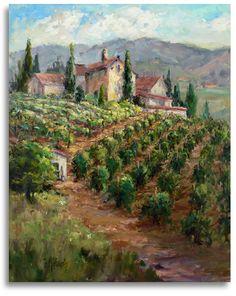 Oklahoma Paintings | Oklahoma Professional Artist Painter Impressionist Landscape Still ...