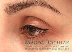 Makijaż permanentny oczu, kreska dekoracyjna