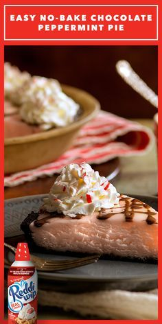 Take a stroll down candy cane lane with this creamy, dreamy, no-fuss, No-Bake Chocolate Peppermint Pie! Just the right amount of peppermint crunch on top and just the right amount of effort—simply pop it in the freezer overnight and wake up to a little Christmas miracle!