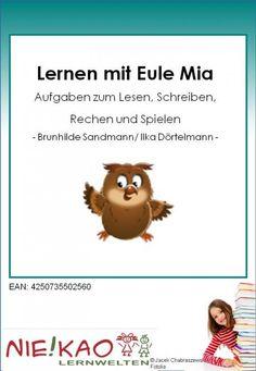 Lesen, Rechnen, Schreiben lernen mit Eule Mia Kl. 3-4 bei niekao.de