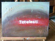 Tetelesti It is finished.  Paid in full. The word that shook the world. John 19:30 #worshippainting #TishaGoodall #art #painting