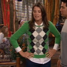 Robin Scherbatsky's Sweaters featured in How I Met Your Mother Season 4 Episode 5 Shelter Island