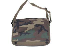 MFH Notebook Tasche, woodland, mit Schultergurt / mehr Infos auf: www.Guntia-Militaria-Shop.de
