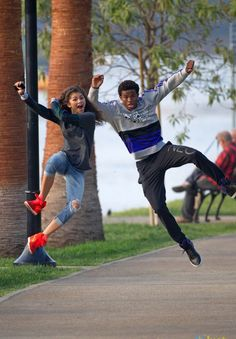 """Rocky Blue (Zendaya) from """"Shake It Up"""" will play a starfish --in the place of a flower-- because she is a flower at heart and can enjoy her self by just being herself."""