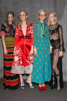 Gucci at Milan Spring 2016.mix de estampas,cores,texturas e estilos.I love it!
