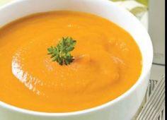 Recette : Potage aux carottes santé.