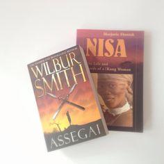 Assegai - an African adventure story by Wilbur Smith #amreading #bookreview #romance