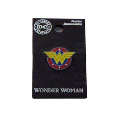 Wonder Woman Color Pewter Lapel Pin