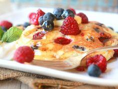 Lemon-Berry Twist Pancakes