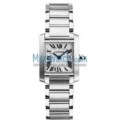 Cartier Tank Francaise Stainless Steel Medium Watch W51011Q3