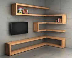 Nice 20+ Brilliant Corner Shelves Ideas. More at https://trendecora.com/2018/06/26/20-brilliant-corner-shelves-ideas/