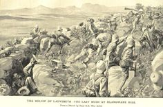 Photograph-& Relief of Ladysmith - The Last Rush at Hlangwane Hill& Creator: Ren& Bull-Photograph printed in the USA Spiritual Images, The Settlers, Family History, South Africa, Mount Rushmore, Abandoned, Britain, Photo Gifts, Framed Prints