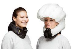 En unas pruebas llevadas a cabo por la Universidad de Standford, se probo que el casco de bolsa de aire es más efectivo contra contusiones.