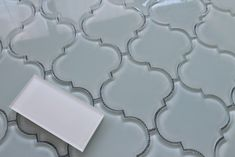 Pacifica Arabesque Glass Mosaic Tiles | Rocky Point Tile - Online Glass Tile and Glass Mosaic Tile Store