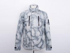 Stone Island Painted Camouflage Jacket