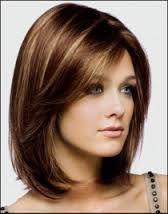 medium length hair with side swept bangs - Google Search