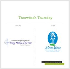 Another #throwback! We also did a #logo redesign for Mary Mother of the Poor, a non-profit charitable organization   www.bluethumbcreatives.com      #tbt #branding #creative #idea #bluethumbcreatives #inspiration