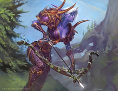 Nordrassil Scout by *Mr--Jack on deviantART