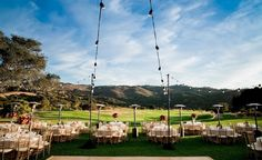 Our event lawn accommodates up to 450 guests! Just a beautiful setting for an event! Intimate Wedding Ceremony, Wedding Receptions, Intimate Weddings, Real Weddings, Our Wedding, Wood Folding Chair, Monterey Peninsula, Ballrooms, Votive Candles