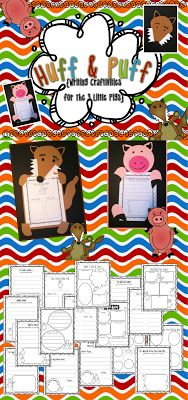 Fairy Tale Fun! Craftivities for the Three Little Pigs $