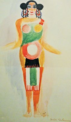 Costume design by Sonia Delaunay.