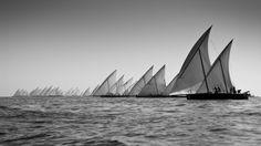 """""""Dhow !"""" - Chris Cameron - Volvo Ocean Race 2012 in Abu Dhabi - Sailing pictures for home decoration"""