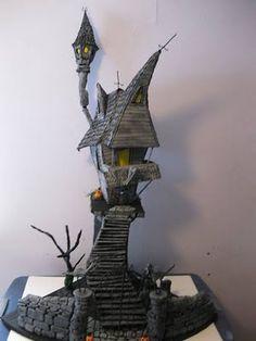 Dollhouse Minis: Jack's Haunted House ~ Tom Dombroski
