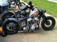 Bobber Inspiration | Panhead bobbers | Bobbers and Custom Motorcycles
