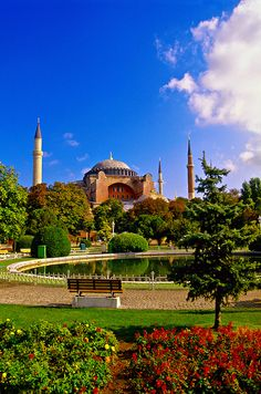 Hagia Sophia museum (Aya Sofya), Istanbul, Turkey Travel Around The World, Around The Worlds, Hagia Sophia Istanbul, Turkish Architecture, Most Beautiful Cities, Istanbul Turkey, Great Pictures, Dream Vacations, Places Ive Been