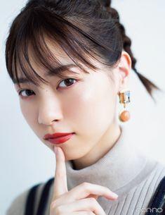 西野七瀬がテーマパークで写真映えメイクをするなら?【オレンジリップ派の7つのコスメ着回しday3】 | non-no Web|ファッション&美容&モデル情報を毎日お届け! Iu Moon Lovers, Kawaii Faces, Japan Girl, Korean Women, Cute Hairstyles, Tumblr, Twitter, Aurora, Japanese