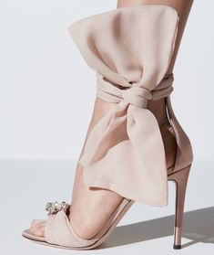 Blush leather Etoile sandals from Giuseppe Zanotti featuring a toe strap, a branded insole, an ankle strap, a bow detail, crystal embellishments and a high stiletto heel. Light Pink High Heels, Stiletto Heels, Shoes Heels, Pink Shoes, Stilettos, Giuseppe Zanotti Shoes, Zanotti Heels, Rhinestone Shoes, Cocktail