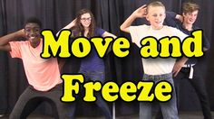 """FREE Video: """"Move and Freeze"""" is a popular brain break, action song for children. It makes it easy and fun to take a quick energy brain break in the classroom. When children take a moment to sing, dance, move, and even laugh then they can return to their academics feeling happy, energized and renewed. This brain breaks dance song is perfect for preschool, kindergarten and elementary children.:"""