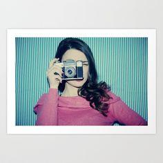Camera Love Art Print by istillshootfilm - $18.72
